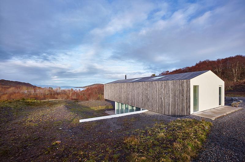 Casa playa madera