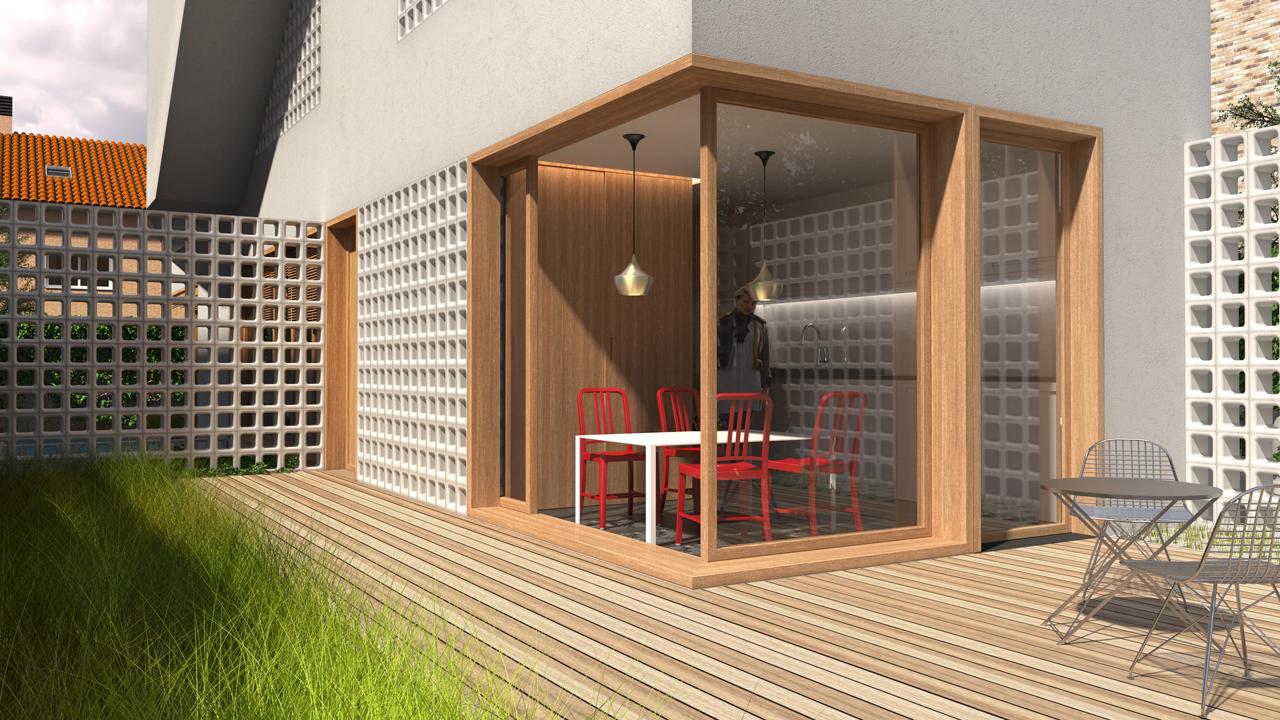 Concurso inmobiliario aravaca selecta home for Estilos arquitectonicos contemporaneos